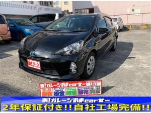 トヨタ アクア G 本土車輌 ETC プッシュスタート