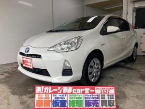 トヨタ アクア S 本土車両 Pスタート Bカメラ 純正ナビ