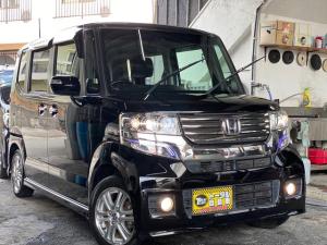 ホンダ N-BOXカスタム G・Lパッケージ 電動スライドドア 純正ナビ・TV Bluetooth機能 バックカメラ ETC 本土無事故車両