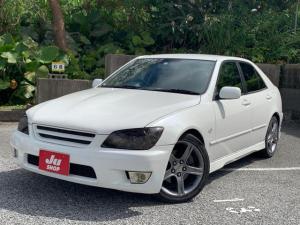 トヨタ アルテッツァ RS200 リミテッドII 6MT HID 革調シートカバー Bluetooth対応