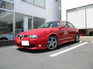 アルファロメオ アルファ156 GTA 3.2 V6 24V ブラックレザー 6速MT