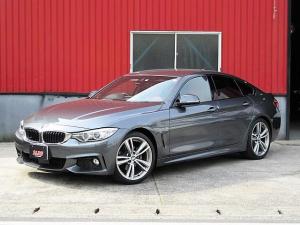 BMW 4シリーズ 420iグランクーペMスポーツ ワンオーナー 赤皮 衝突軽減
