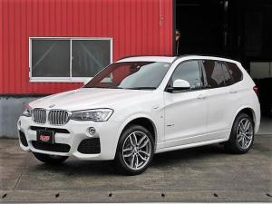 BMW X3 xDrive 28i Mスポーツ サンルーフ 黒皮 衝突軽減