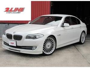 BMW 5シリーズ 523i ALPINAスポイラー・20インチAW 3Dデザイン4本出しマフラー H&Rローダウン コンフォートアクセス オートライト オートホールド バックカメラ クリアランスソナー Bluetoooth