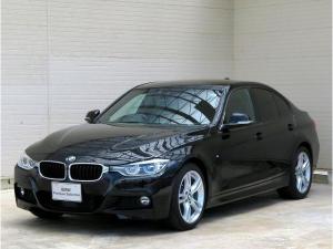 BMW 3シリーズ 320d Mスポーツ LEDヘッドライト 18インチアルミ コンフォートアクセス 純正ナビ リアビューカメラ ETC アクティブクルーズコントロール 車線逸脱防止装置 認定中古車