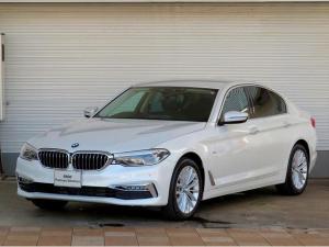 BMW 5シリーズ 523d ラグジュアリー クリーンディーゼル LEDヘッドライト 18インチアルミ 電動トランク ブラックレザーインテリア コンフォートアクセス 純正HDDナビ フルセグTV バックカメラ 認定中古車