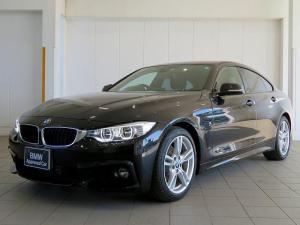 BMW 4シリーズ 420iグランクーペ Mスポーツ オプションLEDヘッドライト オートクルーズコントロール レーンアシスト 黒革シート 純正HDDナビ バックカメラ 障害物センサー 認定中古車