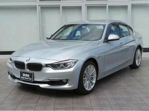 BMW 3シリーズ 328iラグジュアリー キセノン 18AW リアPDC コンフォートアクセス ブラックレザー 純正ナビ 地デジ フルセグ リアビューカメラ 純正ETC クルーズコントロール 認定中古車