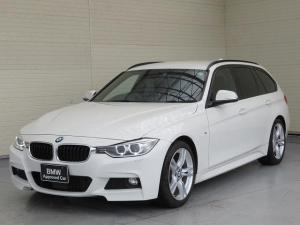 BMW 3シリーズ 320dツーリング Mスポーツ キセノン 18AW リアPDC スマートキー 純正ナビ フルセグ リアビューカメラ 純正ETC アクティブクルーズコントロール ストップ ゴー レーンディパーチャーウォーニング 認定中古車