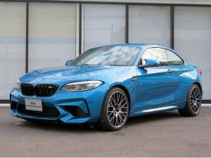 BMW M2 コンペティション LEDヘッドライト 19AW PDC コンフォートアクセス 黒革 純正ナビ リアビューカメラ ハーマンカードンサウンドシステム 純正ETC レーンディパーチャーウォーニング 認定中古車