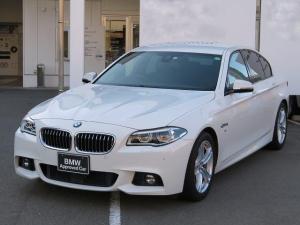 BMW 5シリーズ 523d Mスポーツ 認定中古車 LEDヘッドライト 18AW コンフォートアクセス 純正ナビ iDriveナビ フルセグ リアビューカメラ 純正ETC アクティブ クルーズ コントロール レーンディパーチャーウォーニング