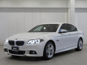 BMW 5シリーズ 523d Mスポーツ 認定中古車 LEDヘッドライト 18AW コンフォートアクセス 黒革 純正ナビ Driveナビ フルセグ リアビューカメラ 純正ETC アクティブクルーズコントロール ストップ ゴー レンチェンジ