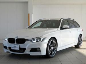 BMW 3シリーズ 318iツーリング Mスポーツ エディションシャドー LEDヘッドライト 19AW PDC オートトランク ブラックレザー マルチディスプレイメーター 純正ナビ バックカメラ 純正ETC レーンチェンジ&ディパーチャーウォーニング 認定中古車