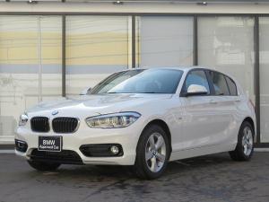 BMW 1シリーズ 118i スポーツ LEDヘッドライト 16AW パーキングサポートPKG リアPDC 純正ナビ iDriveナビ リアビューカメラ 純正ETC レーンディパーチャー ウォーニング クルーズコントロール 認定中古車