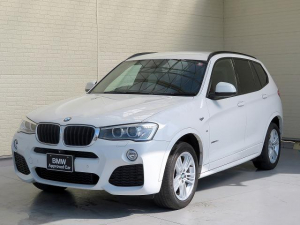 BMW X3 xDrive 20d Mスポーツ キセノン 18AW PDC オートトランク コンフォートアクセス 純正ナビ iDriveナビ 地デジ フルセグ リアビューカメラ 純正ETC レーンディパーチャーウォーニング クルーズコントロール