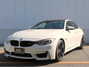 BMW M4 M4クーペ LEDライト 19インチアルミ PDC コンフォートアクセス ブラックレザーインテリア シートヒーター 純正ナビ フルセグ バックカメラ 車線逸脱警告 認定中古車