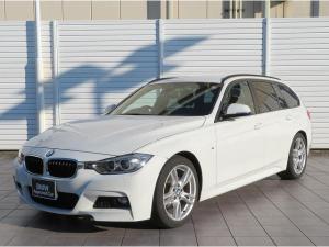 BMW 3シリーズ 320dツーリング Mスポーツ キセノン 18AW リアPDC オートトランク コンフォートアクセス 純正ナビ iDriveナビ リアビューカメラ 純正ETC レーン ディパーチャーウォーニング クルーズコントロール