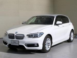 BMW 1シリーズ 118i スタイル コンフォートPKG LEDヘッドライト 16AW パーキングサポートPKG リアPDC コンフォートアクセス 純正ナビ iDriveナビ 地デジ フルセグ リアビューカメラ 純正ETC 認定中古車
