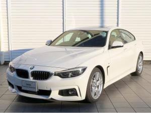 BMW 4シリーズ 420iグランクーペ Mスポーツ LEDヘッドライト 18AW サンルーフ ガラスSR オートトランク コンフォートアクセス 黒革 マルチディスプレイメーター 純正ナビ iDriveナビ 地デジ フルセグ リアビューカメラ 純正ETC