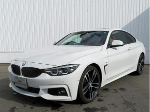 BMW 4シリーズ 420iクーペ Mスポーツ LEDヘッドライト 19AW サンルーフ パーキングサポートPKG コンフォートアクセス 赤革 マルチディスプレイメーター 純正ナビ Bカメラ 純正ETC Aクルコン ファストトラックPKG