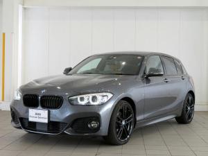 BMW 1シリーズ 118d Mスポーツ エディションシャドー LEDヘッドライト 18AW PDC コンフォートアクセス レザーシート 純正ナビ iDriveナビ 地デジ フルセグ リアビューカメラ 純正ETC アクティブ クルーズコントロール 認定中古車