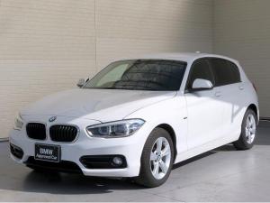 BMW 1シリーズ 118i スポーツ LEDヘッドライト 16AW パーキングサポートPKG リアPDC 純正ナビ iDriveナビ リアビューカメラ 純正ETC レーン ディパーチャー ウォーニング クローズコントロール 認定中古車