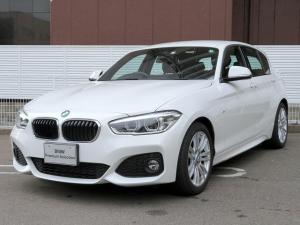 BMW 1シリーズ 118d Mスポーツ LEDヘッドライト 17AW パーキングサポートPKG リアPDC 純正ナビ iDriveナビ リアビューカメラ 純正ETC レーンディパーチャーウォーニング クルーズコントロール 認定中古車