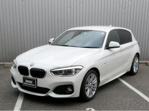 BMW 1シリーズ 118i Mスポーツ LEDヘッドライト 17AW 純正ナビ iDriveナビ リアビューカメラ 純正ETC レーンディパーチャーウォーニング クルーズコントロール 認定中古車
