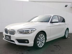 BMW 1シリーズ 118i セレブレーションエディション マイスタイル LEDヘッドライト 17AW リアPDC 純正ナビ iDriveナビ リアビューカメラ  純正ETC レーンディパーチャーウォーニング クルーズコントロール センサレザー 認定中古車