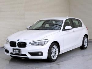 BMW 1シリーズ 118i LEDヘッドライト 16AW パーキングサポートPKG リアPDC 純正ナビ iDriveナビ リアビューカメラ 純正ETC 認定中古車