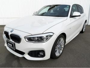 BMW 1シリーズ 118i Mスポーツ LEDヘッドライト 17AW パーキングサポートPKG リアPDC 純正ナビ リアビューカメラ 純正ETC レーンディパーチャーウォーニング クルーズコントロール 認定中古車