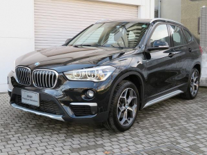 BMW X1 xDrive 18d xライン コンフォートPKG LEDヘッドライト 18AW PDC オートトランク コンフォ-トアクセス シートヒーター 純正ナビ iDriveナビ リアビューカメラ 純正ETC 車線逸脱 認定中古車