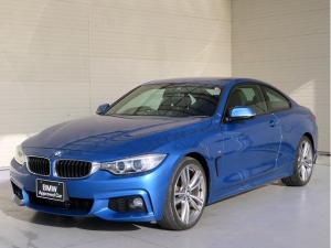 BMW 4シリーズ 420iクーペ Mスポーツ GOP19インチアルミ アクティブクルーズコントロール ストップ&ゴー リアビューカメラ リアPDC レーンディパーチャーウォーニング スマートキー 純正ナビ 純正ETC 認定中古車