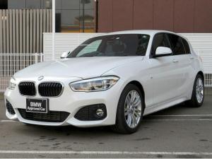 BMW 1シリーズ 118i Mスポーツ コンフォートPKG LEDライト 17AW パーキングサポートPKG リアPDC コンフォートアクセス iDriveナビ Bカメラ レーンディパーチャーウォーニング クルーズコントロール 認定中古車
