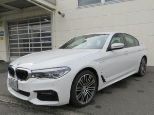 BMW 5シリーズ 530e Mスポーツ LEDヘッドライト 19AW オートトランク コンフォートアクセス ブラックレザー マルチディスプレイメーター 純正ナビ iDriveナビ フルセグ トップ リアビューカメラ Aクルコン 認定中古車