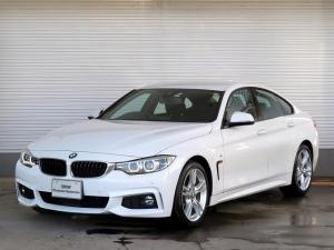 BMW 4シリーズ 420iグランクーペ Mスピリット LEDヘッドライト 18AW PDC オートトランク コンフォートアクセス 純正ナビ iDriveナビ リアビューカメラ 純正ETC アクティブ クルーズ コントロール ストップ ゴー 認定中古車