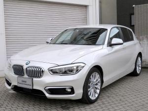 BMW 1シリーズ 118i ファッショニスタ LEDヘッドライト 17AW リアPDC コンフォートアクセス レザーシート 純正ナビ iDriveナビ 地デジ フルセグ リアビューカメラ 純正ETC アクティブ クルーズ コントロール 認定中古車