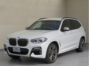 BMW X3 M40d LEDヘッドライト 21AW オートトランク コンフォートアクセス ブラウンレザー マルチメーター 純正ナビ iDriveナビ フルセグ トップ リアビューカメラ HUD Aクルコン 認定中古車