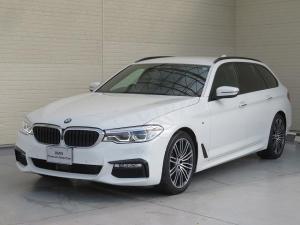 BMW 5シリーズ 523dツーリング Mスポーツ ハイラインパッケージ LEDヘッドライト 19AW PDC オートトランク コンフォートアクセス 黒革 純正ナビ フルセグ ACC ストップ&ゴー レーンチェンジ&ディパーチャーウォーニング 認定中古車
