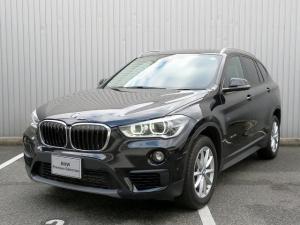 BMW X1 sDrive 18i コンフォートPKG LEDヘッドライト 17AW リアPDC オートトランク コンフォートアクセス シートヒーター 純正ナビ iDriveナビ リアビューカメラ 純正ETC 車線逸脱 認定中古車