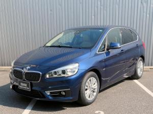 BMW 2シリーズ 218dアクティブツアラー ラグジュアリー コンフォートPKG LEDヘッドライト 16AW パーキングサポートPKG オートトランク コンフォートアクセス ベージュレザー 純正ナビ リアビューカメラ HUD 純正ETC Aクルコン 認定中古車