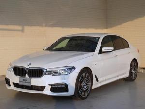 BMW 5シリーズ 523d Mスポーツ ハイラインパッケージ LEDヘッドライト 19AW オートトランク コンフォートアクセス ブラックレザー 純正ナビ iDriveナビ トップ リアビューカメラ 純正ETC アクティブ クルーズ コントロール 認定中古車