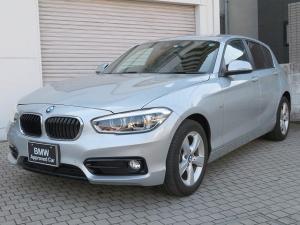 BMW 1シリーズ 118i スポーツ コンフォートPKG LEDヘッドライト 16AW コンフォートアクセス 純正ナビ iDriveナビ リアビューカメラ 純正ETC クルーズコントロール レーン ディパーチャー ウォーニング 認定中古車