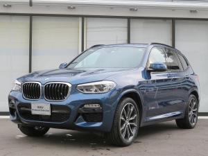 BMW X3 xDrive 20d Mスポーツ LEDヘッドライト 20AW オートトランク コンフォートアクセス シートヒーター マルチメーター 純正ナビ フルセグ トップ リアビューカメラ HUD 純正ETC Aクルコン 車線逸脱 認定中古車