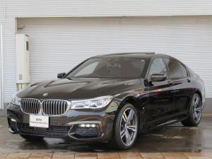 BMW 7シリーズ 740eアイパフォーマンス Mスポーツ LEDヘッドライト 20AW サンルーフ オートトランク コンフォートアクセス ブラックレザー 純正ナビ iDriveナビ トップ リアビューカメラ HUD ハーマンカードン Aクルコン 認定中古車