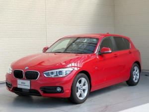 BMW 1シリーズ 118d スポーツ コンフォートPKG LEDヘッドライト 16AW パーキングサポートPKG PDC コンフォートアクセス 純正ナビ iDriveナビ リアビューカメラ 純正ETC Aクルコン 車線逸脱 認定中古車