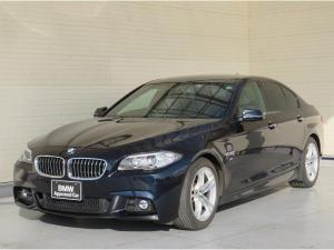 BMW 5シリーズ 523i Mスポーツ MS キセノン 18AW PDC コンフォートアクセス 純正ナビ iDriveナビ 地デジ フルセグ リアビューカメラ 純正ETC レーンディパーチャーウォーニング クルーズコントロール 認定中古車