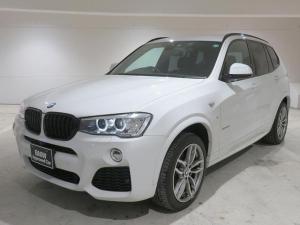 BMW X3 xDrive 20i Mスポーツ MS キセノン 19AW オートトランク コンフォートアクセス 純正ナビ iDriveナビ 地デジ フルセグ トップ リアビューカメラ 純正ETC 車線逸脱 クルーズ コントロール 認定中古車