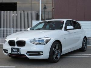 BMW 1シリーズ 116i スポーツ キセノン 純正ナビ 17インチアルミ 認定中古車