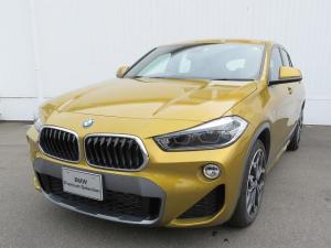 BMW X2 xDrive 18d MスポーツX MS コンフォートPKG LEDヘッドライト 19AW PDC オートトランク コンフォートアクセス 純正ナビ iDriveナビ リアビューカメラ HUD 純正ETC Aクルコン 車線逸脱 認定中古車